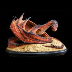 Weta Lord Of The Ring Smaug The Terrible Statue Limited Figure Nib. 1998