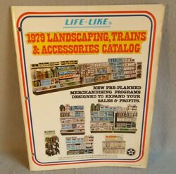 Life-like 1979 Landscaping Trains Scenery And Accessories Full Color Trade Catalog