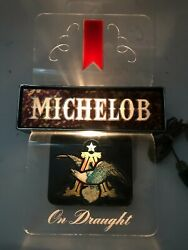 Vintage Michelob Lighted Beer Bar Advertising Sign 303-413 St. Louis, Mo