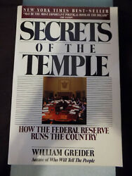 William Greider- Secrets Of The Temple- The Federal Reserve Trade Pb