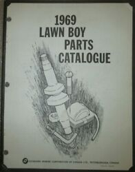1969 Omc Lawn Boy Push And Riding Lawn Mower Engine Parts Catalog List Book Manual