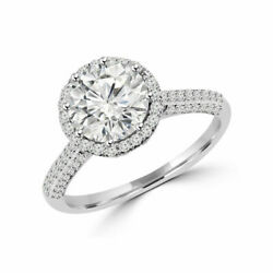 Natural 1.30 Ct Round Diamond Anniversary Ring Solid 14k White Gold Size 6 7.5 8