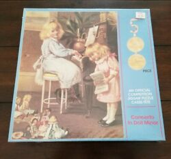 New 1984 Concerto In Doll Minor 500 Piece Jigsaw Puzzle American Publishing