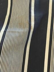 Vintage French Ticking Fabric Remnants 57 X 73 And 53 X 59 As Is