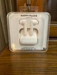 Happy Plugs Air 1 Go Wireless Earbuds Brand New Sealed White 11 Hour Battery