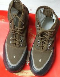 Rare Korean Peopleand039s Army Kpa North-korea Army Deserter Solider Sneakers Shoes