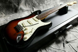 Fender American Deluxe Stratocaster Rw 3tsb 2014 Electric Guitar With Hard Case