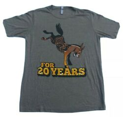 Gov#x27;t Mule T Shirt Large For 20 Years Tour 2014 Front and back print