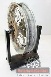 93-95 Klx650r Rear Wheel Back Rim Tire Straight Needs Bearings Rusted Painted