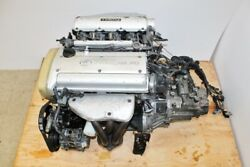 Jdm Toyota Levin 4a-ge Engine 5 Speed Manual Transmission 1.6l Dohc Silver Top