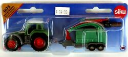 Kids Farm Diecast Tractor With Wood Chippers Siku 1675