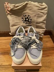 Converse One Star Ox Tyler The Creator Golf Wang Airway Blue Size 8 New 159432c