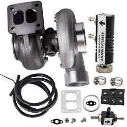 Gt45 Turbocharger T4 V-band Hardware 600+hp Boost+turbo Boost Controller