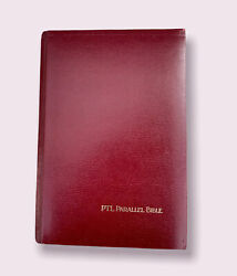 Ptl Parallel Edition Bible Large Print Leather Bound King James Holy Bible 1983