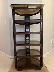 Technics Audio Equipment Stand Rack, Stereo Stand Rate And Beautiful