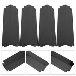4pcs Grill Heat Plates Cover Stainless Steel Gas Grill Heat Plate Grill Parts