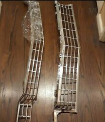 1968 Chevy Impala 427 Caprice Ss Conv Front Rechromed Grill Original