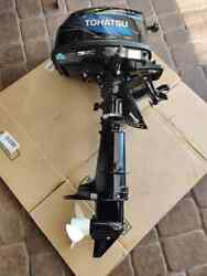 Tohatsu 6hp 4-stroke Outboard Boat Motor 2006 Once Ever Used