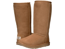 New With Box Ugg Kids Classic Tall Ii Chestnut Big Kid Youth Size 5