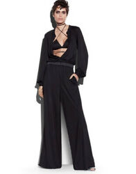 Tom Ford Viscose Silk Jumpsuit - With Tags- Rrp 6200 Aud