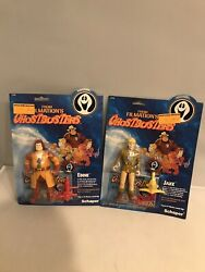 Ghostbusters Filmation Action Figures Lot Jake And Eddy New In Packages