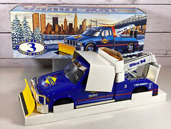 1996 Sunoco Toy Tow Truck With Snow Plow- Third In The Series - Mint In Box