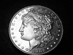 1882p Morgan Silver Dollar Proof-like You Judge  Better Date 3408