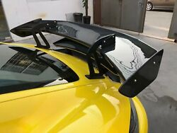 For Boxster Cayman 718 987 981 Gt4-style Carbon Rear Gt Spoiler Wing Bodykits