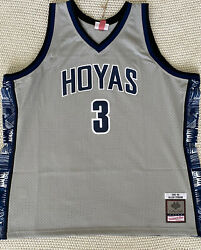 Mitchell And Ness Allen Iverson Georgetown 1995 Jersey Size 3xl - Sold Out