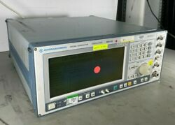 Rohde And Schwarz Smiq 03s 300khz-3.3 Ghz Signal Generator Lab Tested