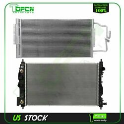 Fits 2012-2013 Chevrolet Impala Replacement Radiator And Condenser Assembly