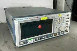 Rohde And Schwarz Smiq 03s Opt. B14, B17 300khz-3.3 Ghz Signal Generator Tested