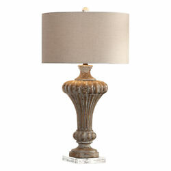 Uttermost Treneece Jim Parsons Resin And Crystal Table Lamp 27863