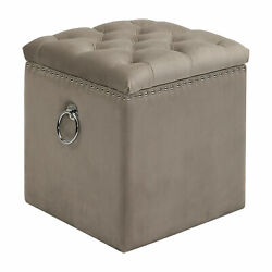 Uttermost Talullah Jim Parsons Plywood And Fabric Ottoman 23455