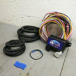 Wire Harness Fuse Block Upgrade Kit For Late Model Toyota Street Rod Hot Rod