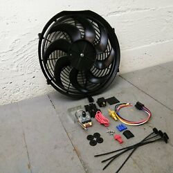 1900-27 Early Cars Adjustable Temp 14 2122 Cfm S-blade Cooling Fan Kit T-bucket