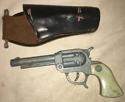 Stevens Toy Gun Western Cowboy King Cromwell Connecticut With Holster