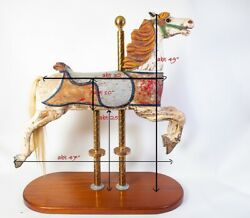 Vintage Carousel Horse Full Size, Believed To Be A C.w. Parker Ca 1912/13.