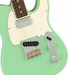 Fender American Performer Telecaster With Humbucking Rosewood / Satin Surf Green
