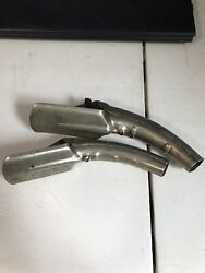 Vintage Lot Of 2 Plews Oil Can Spout Nozzle Opener Made U.s.a.