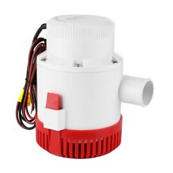 3500gph 12v Professional Submersible Bilge Pump Marine Boat Yacht Acce Fitting
