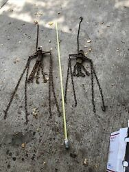 2pcs Myers Hay Fork Grapple Mechanism Parts Stuck Rusted