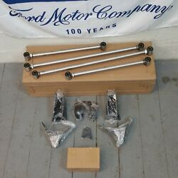 Stainless Steel Triangulated Full Size 4 Link Kit For 1936 - 1938 Lincoln