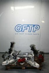 20-21 Toyota Supra A90 Front Subframe Drop Out Struts Rotor Caliper Hubs Rack
