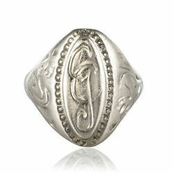 Signet Ring Antique Silver Napoleon Iii Jewelry Antiques