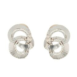 Earrings Clips White Gold Vintage Jewelry Antiques