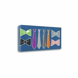 Tangletown Fine Art Bow And Neck Ties By Linda Woods Wall Art Sblw2264-3213c