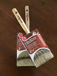 Redtree Professional Badger China Bristle Paint Brushes 2.5-3 New