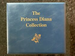 The Princess Diana Collection Stamps And Souvenir Sheets, Mystic Stamp Co Binder