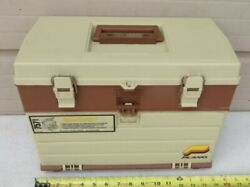 Plano 757 --- 4-drawer --- Fishing Tackle Box / Case --- With Contents/tackle